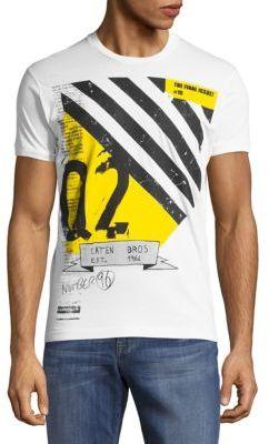 Crewneck Short-Sleeve Graphic Tee $240 thestylecure.com