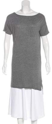 Alexander Wang Short Sleeve Jersey Tunic