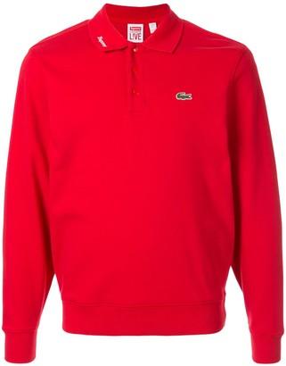 Lacoste Supreme jersey polo top