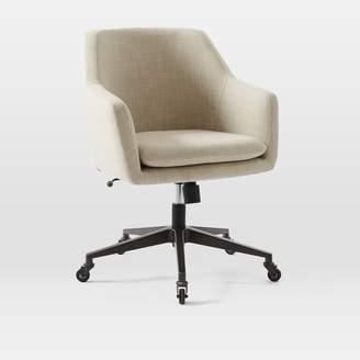 At West Elm · West Elm Helvetica Desk Chair  Upholstered