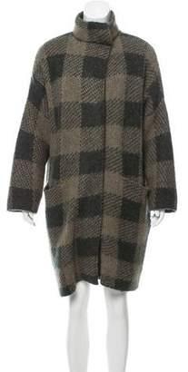 Rag & Bone Oversize Gingham Coat