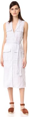 James Perse Pocket Shirtdress $245 thestylecure.com