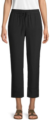 Joie Ceylon Cropped Drawstring Pants