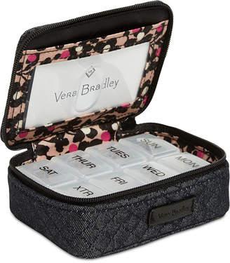 Vera Bradley Iconic Denim Travel Pill Case