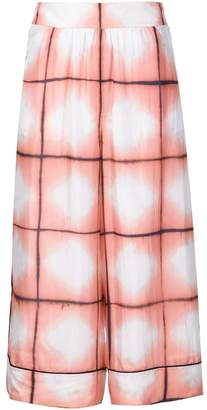 Thakoon Addition printed silk culottes