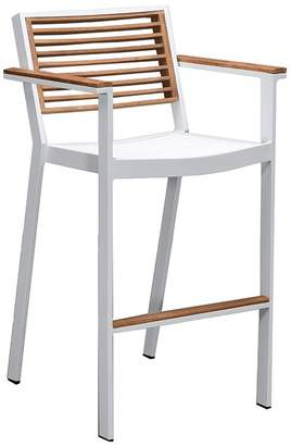 Indo Soul Indosoul St Lucia Bar Arm Chair White