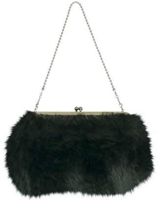 Yohji Yamamoto Vintage Black Synthetic Handbag