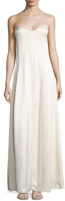 Narciso Rodriguez Sweetheart Strapped Gown