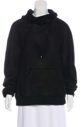 Proenza Schouler Suede & Shearling Jacket