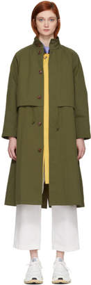 Chimala Green Raglan Coat