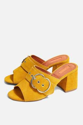 Topshop WIDE FIT NEBRASKA Mules