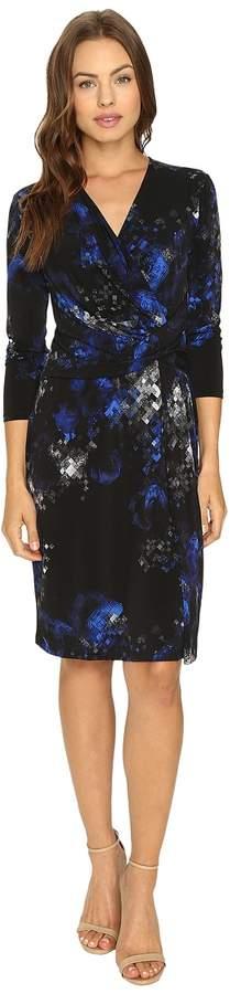 Ellen Tracy Knit Twist Dress Women's Dress