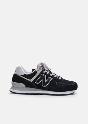 New Balance 574 Classic Suede Mesh Sneaker