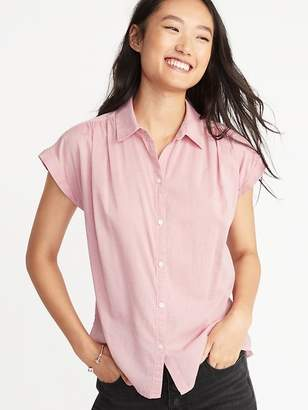 Old Navy Relaxed Cap Sleeve Shirt for Women