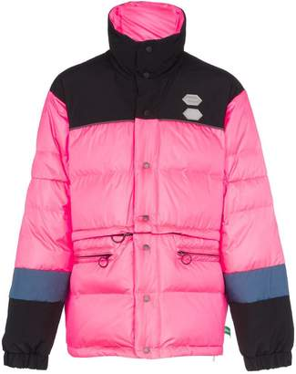 Off-White detachable padded down jacket