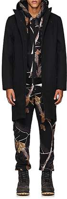 Stutterheim Raincoats Men's Cotton-Blend Twill Parka