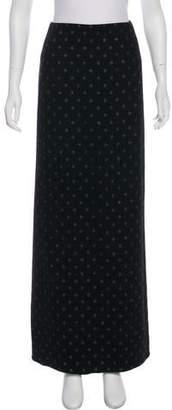 Marc Jacobs Virgin Wool Maxi Skirt