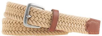 J.Crew Braided cotton belt