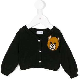 Moschino Kids Toy Teddy cardigan
