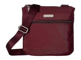 Baggallini Legacy RFID Small Zip Crossbody