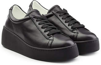 Robert Clergerie Leather Platform Sneakers