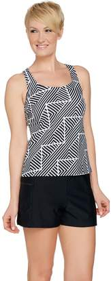 Ocean Dream Signature Zig Zag Stripe Tankini Swimsuit