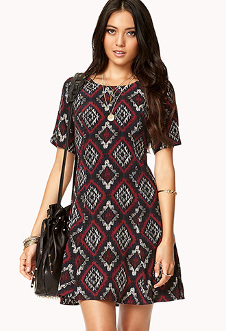 Forever 21 Darling Southwestern Dress
