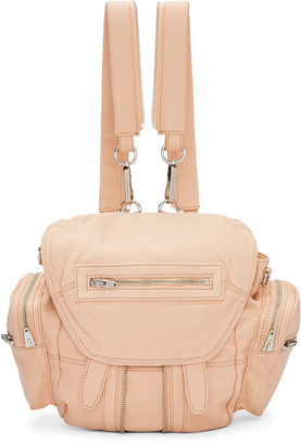 Alexander Wang Pink Mini Marti Backpack $795 thestylecure.com
