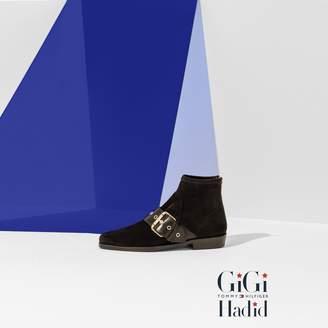 Tommy Hilfiger Gigi Hadid Flat Suede Boot