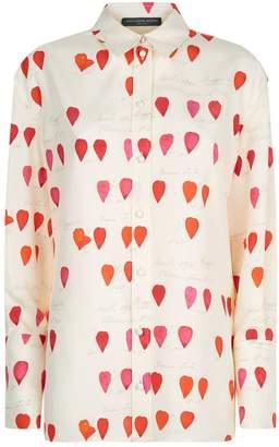 Alexander McQueen Petal Print Shirt