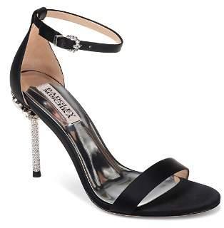 Badgley Mischka Women's Vicia Embellished Satin High-Heel Sandals