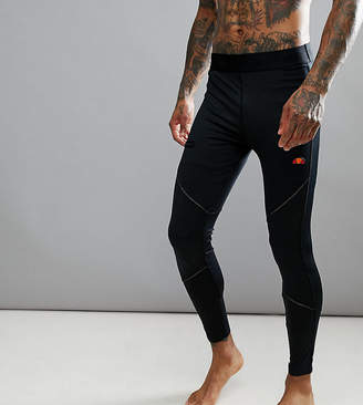 Ellesse Sport Running Tights With Short Overlay