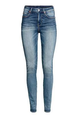 H&M Skinny High Waist Jeans - Denim blue - Women