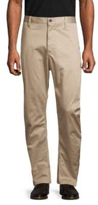 G Star Solid Stretch Cotton Pants