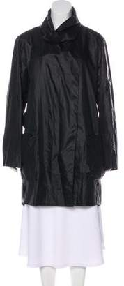 Helmut Lang Silk Trench Coat