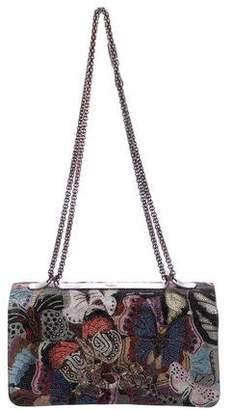 Valentino Crystal-Embellished Butterfly Va Va Voom Bag