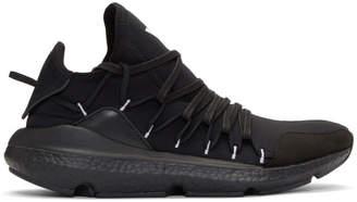 Y-3 Y 3 Black Boost Kusari Sneakers