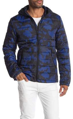 Bench Camouflage Down Jacket with Hoodie