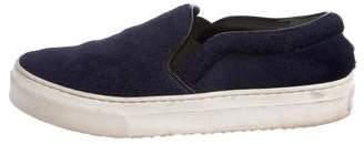 Celine Ponyhair Slip-On Sneakers