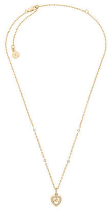 Michael Kors Love is in The Air Crystal Pendant Necklace