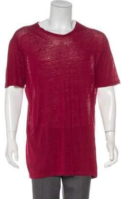 Etro Oversize Linen T-Shirt