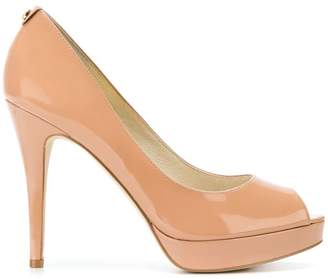 MICHAEL Michael Kors York peep-toe pumps