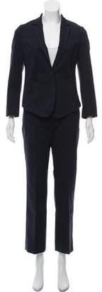 Calvin Klein Collection Notch-Lapel Pantsuit w/ Tags