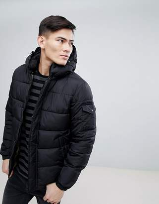 Esprit Padded Jacket With Fleece Lined Pockets