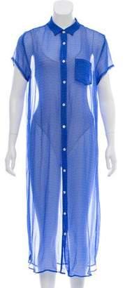 Steven Alan Printed Midi Dress