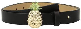 Kate Spade 1 Pineapple Smooth Leather Belt Women's Belts