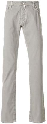 Jacob Cohen printed slim-fit trousers