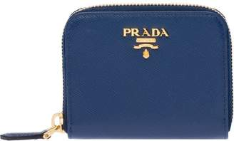Prada Saffiano coin purse