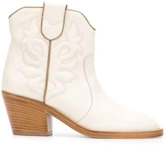 Twin-Set cowboy ankle boots