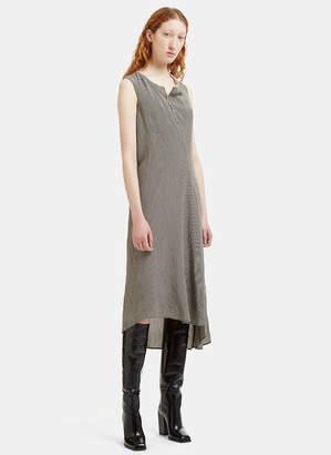 Acne Studios Asymmetric Gingham Deala Dress